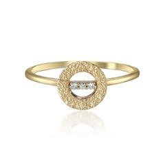DIAMOND TEXTURE RING