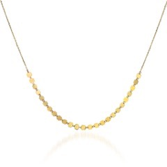 HONEYCOMB PLATE NECKLACE