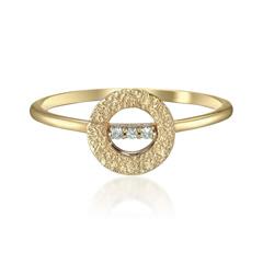 DIAMOND TEXTURE RING