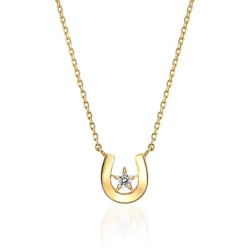 DIAMOND HORSESHOE NECKLACE