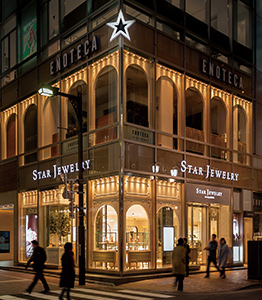 STAR JEWELRY the shop GINZA