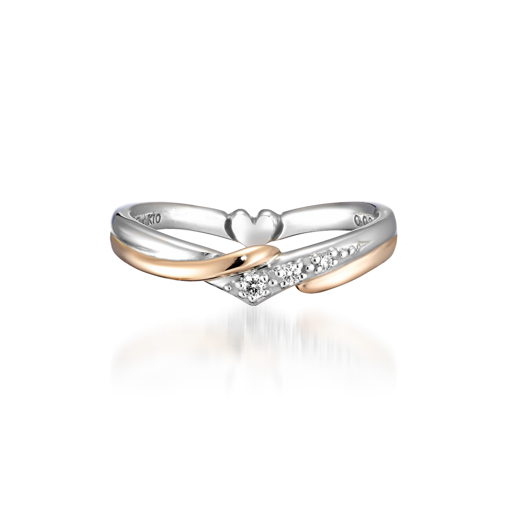 HEART PINKIE RING